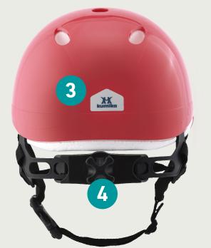 ヘルメット 背面